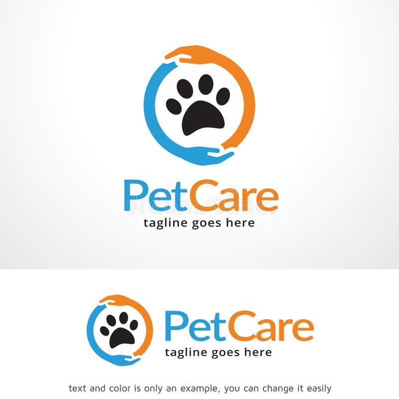 Cura di animale domestico Logo Template Design Vector, emblema, concetto di progetto, simbolo creativo, icona royalty illustrazione gratis