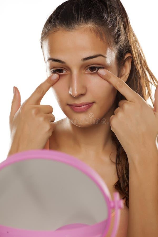Cura di pelle facciale immagine stock