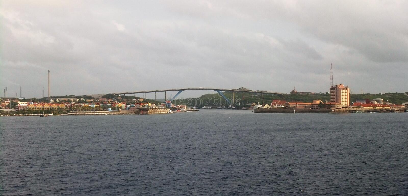 Curacao Panoramiczny obraz royalty free