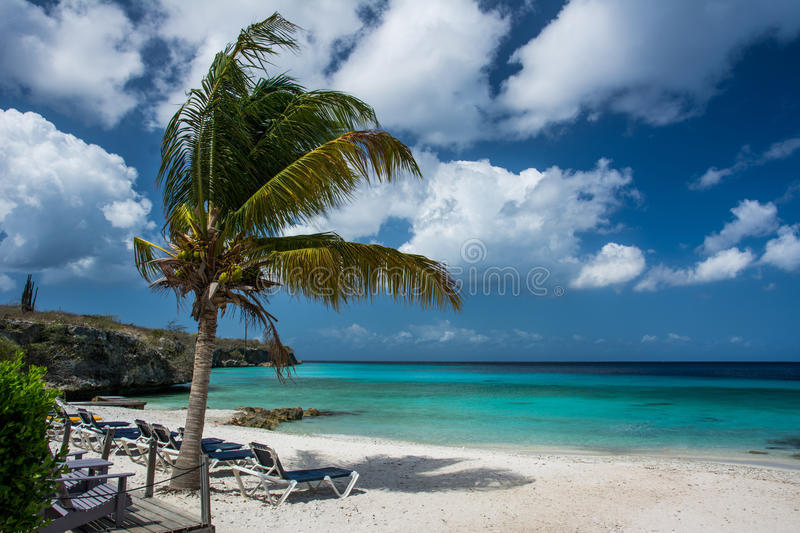Curacao, Playa Porto Marie stock images