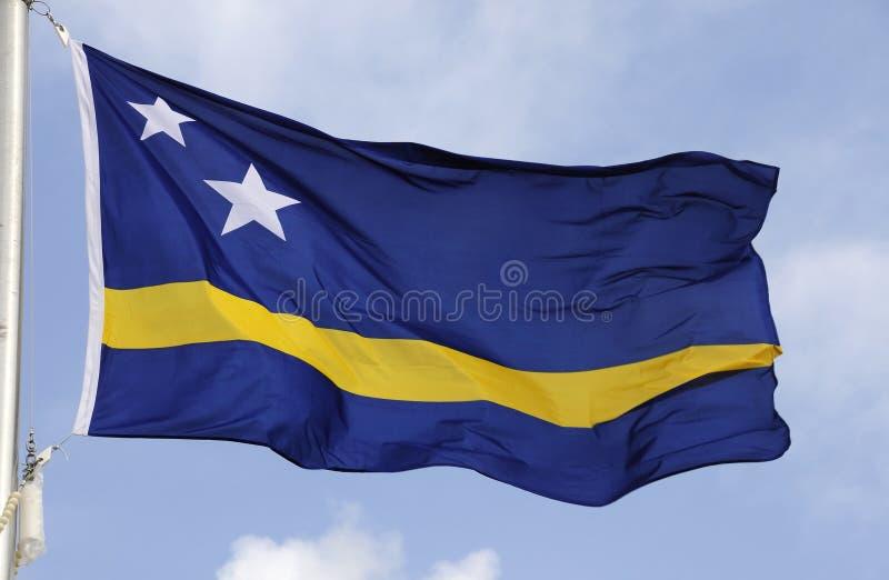 Curacao Vlag royalty-vrije stock afbeeldingen