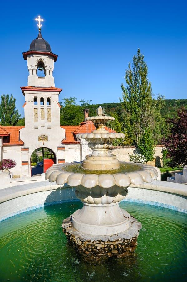 Curchi正统基督徒修道院,摩尔多瓦 免版税库存照片