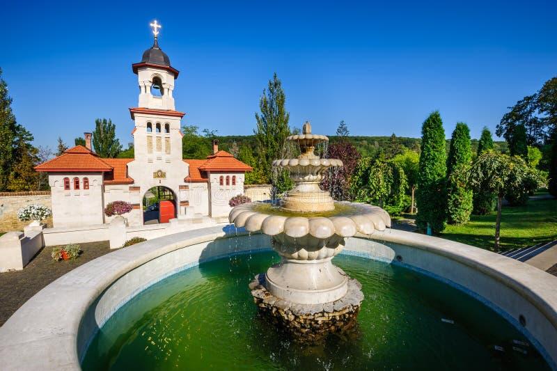 Curchi正统基督徒修道院,摩尔多瓦 库存图片