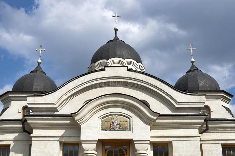 Curchi cathedral in Moldova royalty free stock photo