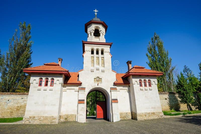 Curchi Christian Monastery ortodoxo, el Moldavia fotografía de archivo