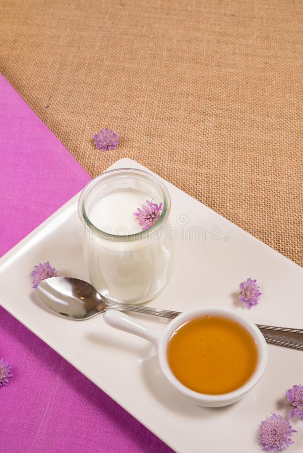 Download Curd For Breakfast Royalty Free Stock Photos - Image: 32395548