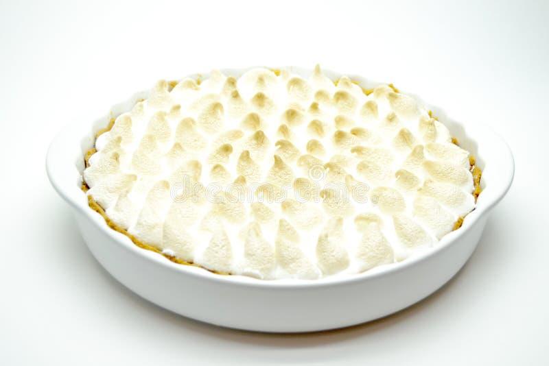 Curd cake on white background royalty free stock image