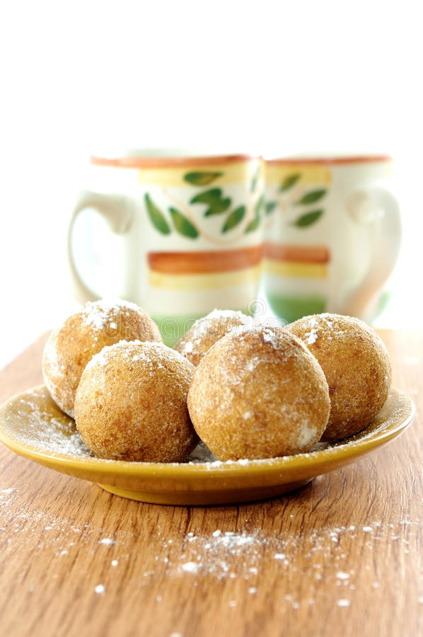 Download Curd doughnuts stock image. Image of birthday, doughnut - 20665943