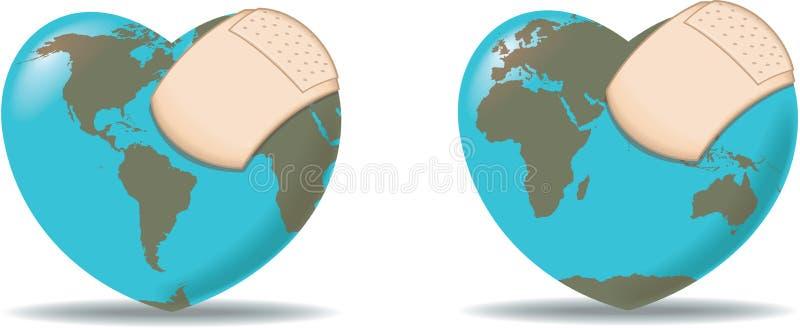 Cure el mundo libre illustration