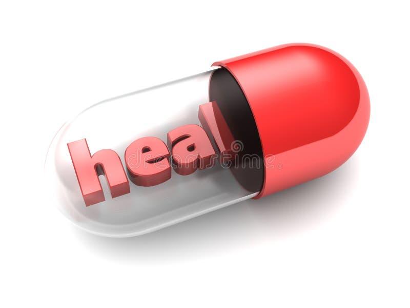 Cure la píldora libre illustration