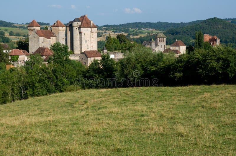 Curemonte, Frankrijk stock afbeeldingen