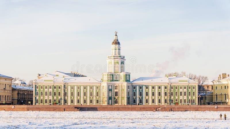 Curiosités à St Petersburg Nom d'anthropologie et d'ethnographie image stock