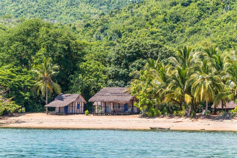 Curioso sia spiaggia nel Madagascar fotografia stock