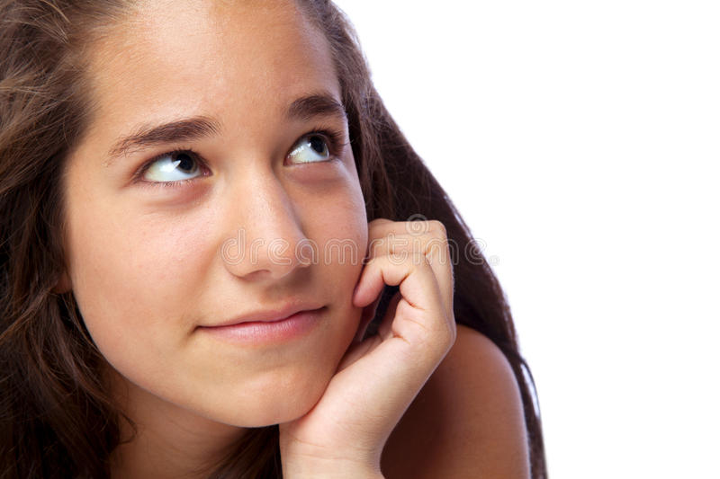 Download Curious Teenager stock photo. Image of caucasian, studio - 21269436