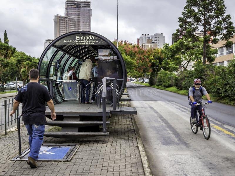 Curitiba em Parana, Brasil fotos de stock