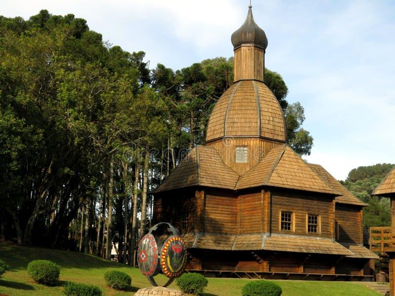 Curitiba Mooi Park royalty-vrije stock afbeelding