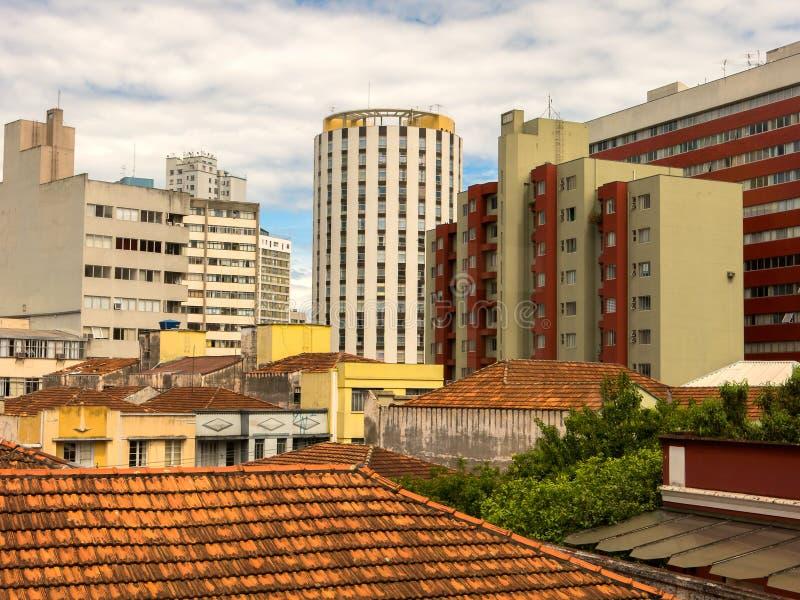 Curitiba - Paraná - el Brasil fotografía de archivo libre de regalías