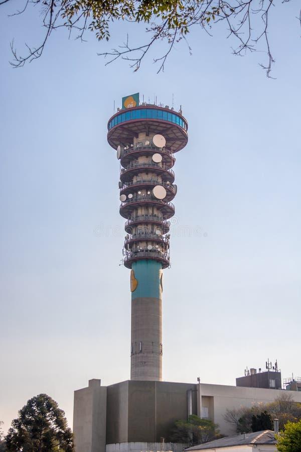 Curitiba` s Panoramische Toren - Curitiba, Parana, Brazilië stock foto
