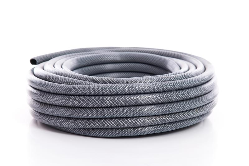 Download Curled Garden Hose On White Stock Photo   Image Of Detail, Green:  100826658