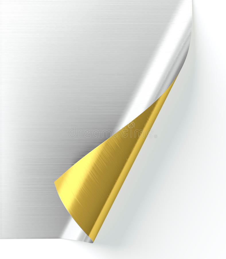 Download Curled paper stock illustration. Illustration of note - 25118689