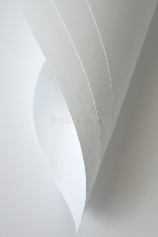 Curles de papel foto de stock