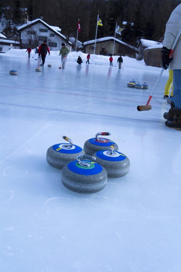 curling imágenes de archivo libres de regalías