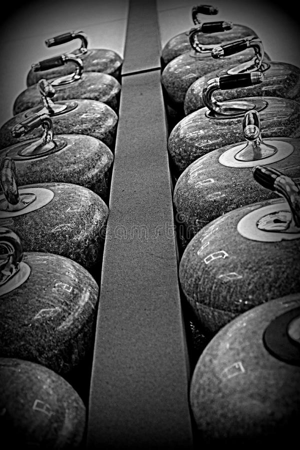 curling stock foto