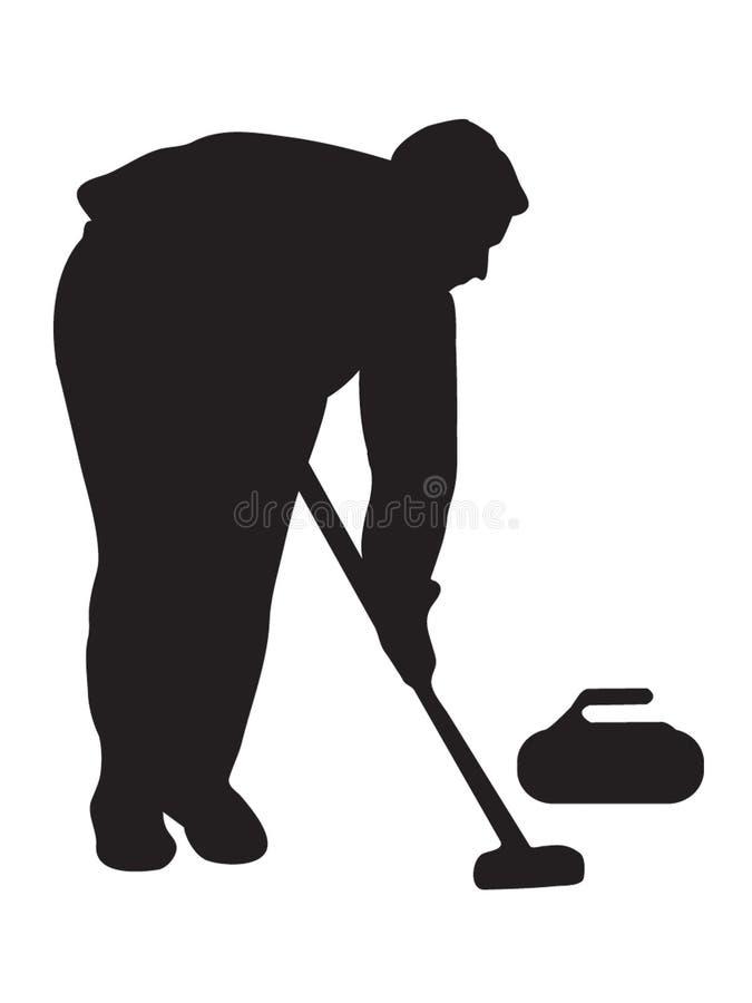 Download Curling stock vector. Image of stones, curling, sweeper - 7143891