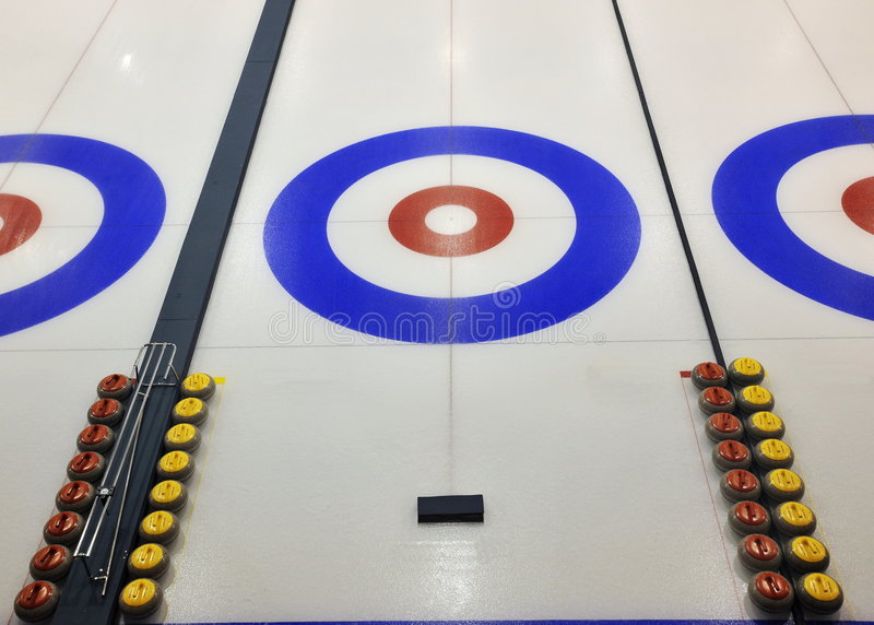 Download Curling stock image. Image of game, canada, edmonton, rocks - 7352543
