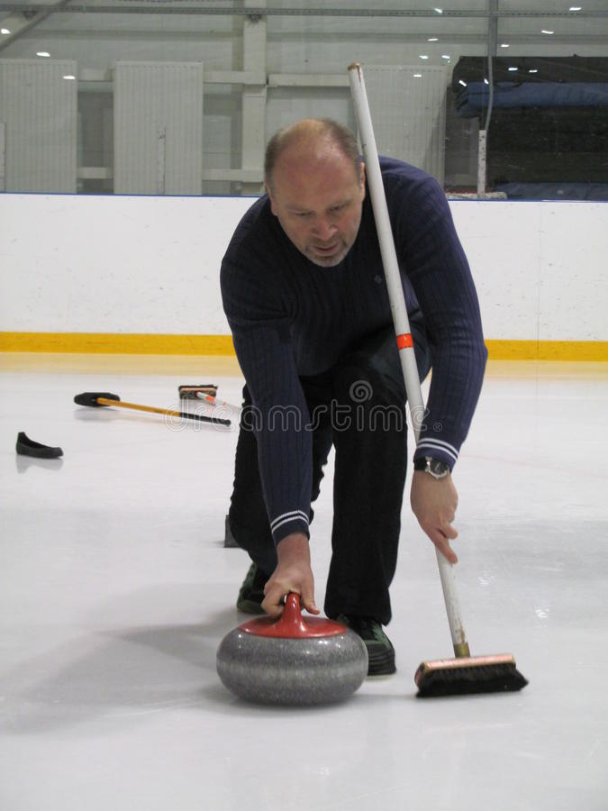 curling imagen de archivo libre de regalías