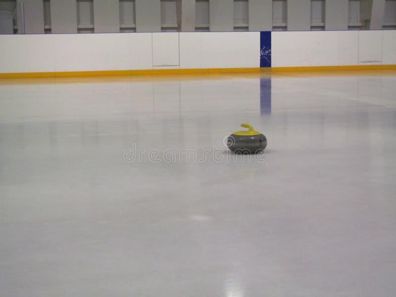 curling Fans que se encrespan del club imagenes de archivo