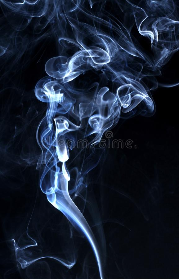 Curling smoke stock photos