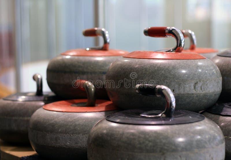 Download Curling Stones stock image. Image of rink, handle, granite - 17994797