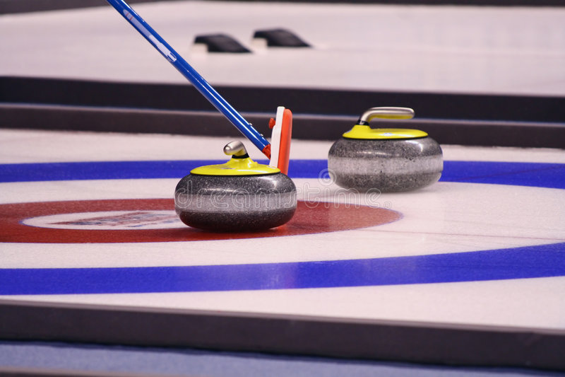 Download Curling Stones stock photo. Image of american, game, competition - 8379992