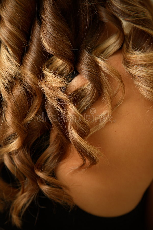 Download Curls stock image. Image of neck, head, salon, back, beauty - 1672395