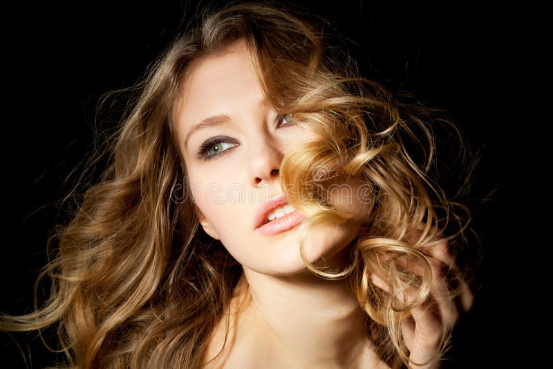 Curls stock image