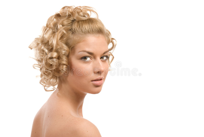 Download Curly Blond Royalty Free Stock Images - Image: 5001199