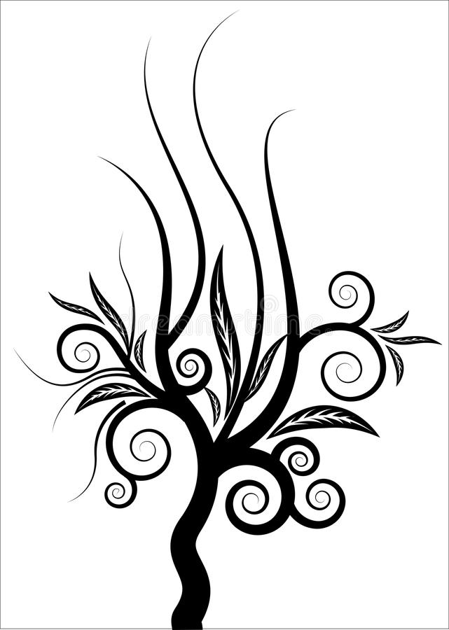 Download Curly Tree Vector Stock Photography - Image: 29667592