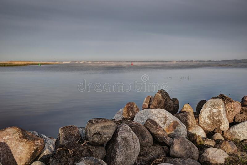 The Curonian Lagoon royalty free stock photos