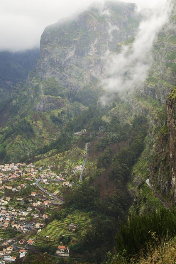 Curral das Freiras - Мадейра стоковая фотография rf
