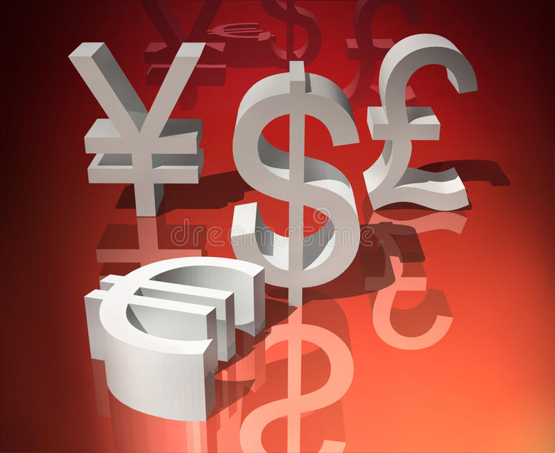 Currencies Royalty Free Stock Photo