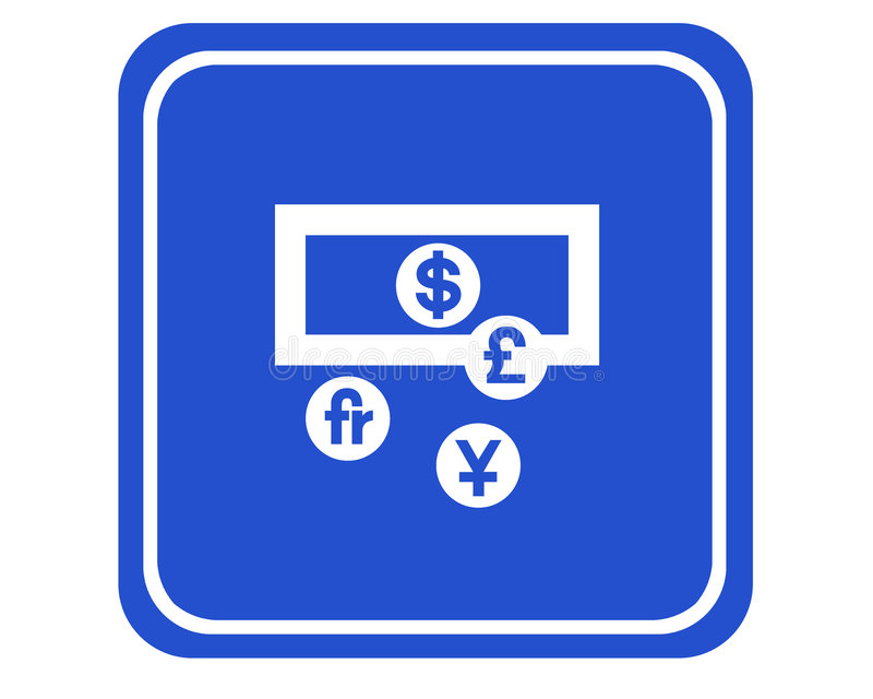 Download Currencies stock illustration. Image of pictograph, currency - 513443