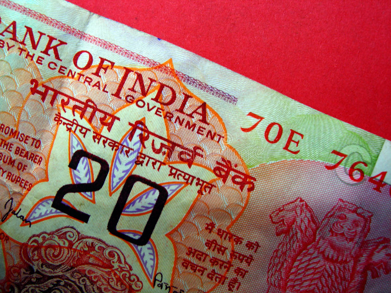 Currency_09 indien image libre de droits