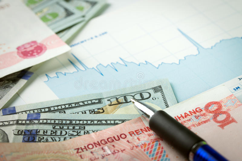 Currency exchange royalty free stock images