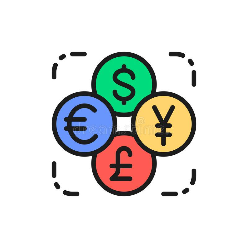 https://thumbs.dreamstime.com/b/currency-exchange-foreign-money-coin-dollar-euro-yen-flat-color-line-icon-vector-pound-symbol-sign-illustration-design-175483232.jpg