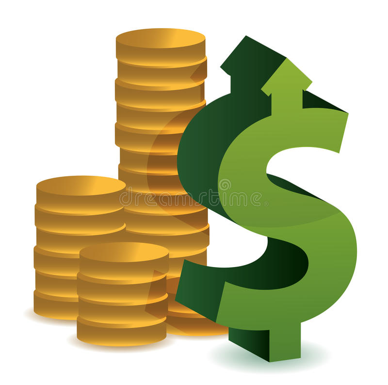 Download Currency Exchange Prices Up Stock Illustration - Image: 27963313