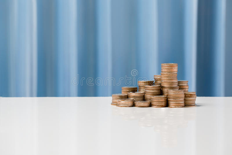 Currency exchange rates concept, money currency THB Thai baht. stock photo
