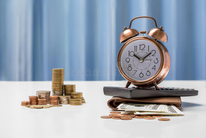 Currency exchange rates concept, money currency THB Thai baht. stock images