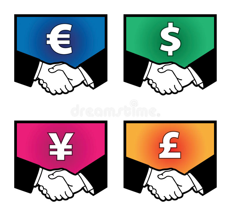 Download Currency signs stock vector. Image of bank, earnings - 30190017