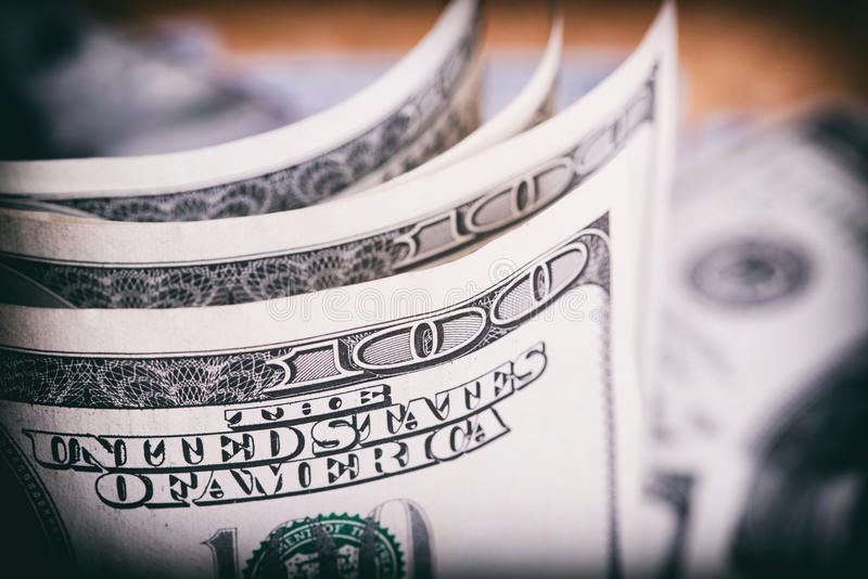 Currency US dollars royalty free stock image